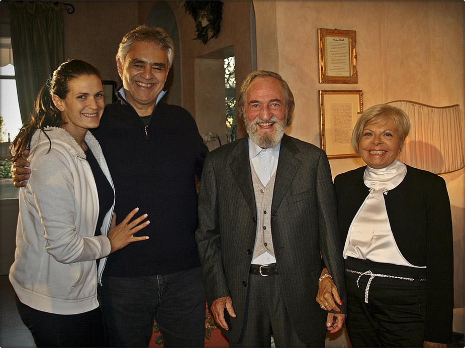 """Premiul Artă, Știință și Pace - Andrea Bocelli (ziarul """"La Nazione"""", 27/11/15)"""