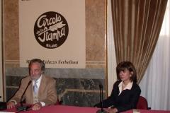 """Conferința la """"Circolo della Stampa"""", Milano (1998)"""