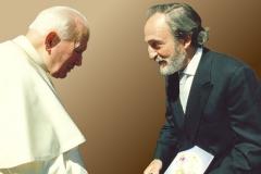 Întrevederea cu Papa Ioan Paul al II