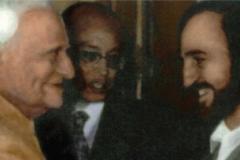 La New Delhi cu Președintele Indiei V. V. Giri (1987)