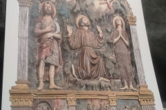 Mănăstire Sargiano - Sfântul Francisc primește stigmatele