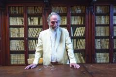 Pier Franco Marcenaro, Mănăstire Sargiano - Bibliotecă